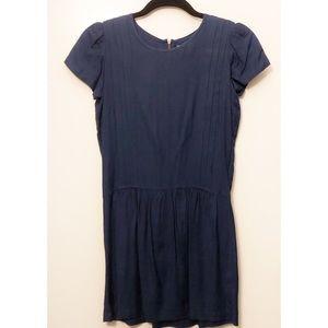 Navy blue shift dress, XS